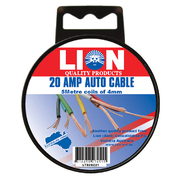 Auto Wiring Cable - 20 Amp 5m x 4mm *Variety Of Colours