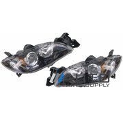 Mazda 3 BK Sedan Headlights Head Lights Lamps 2004-2008 *New Pair*