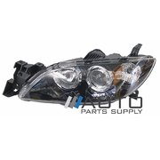 Mazda 3 BK Sedan LH Headlight Head Light Lamp 2004-2008 *New*