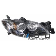 Mazda 3 BK Sedan RH Headlight Head Light Lamp 2004-2008 *New*