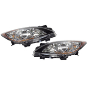 Mazda 3 BL LH + RH Headlights Head Lights Lamps Halogen Type 2009-2013 *New*