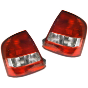 Mazda 323 Protege LH + RH Tail Lights Lamps Suit BJ 1998-2002 Sedan Models *New Pair*