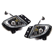 Mazda GF GW 626 LH + RH Fog Bar Driving Lights suit 1999-2002 Models