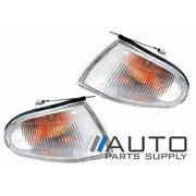 Mitsubishi CC Lancer LH+RH Indicator Corner Lights Sedan or Station Wagon 1992-1996 *New Pair*