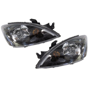 Mitsubishi CH Lancer VRX LH + RH Headlights Head Lights Lamps 2003-2007 *New*