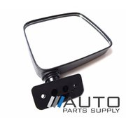 Nissan GQ Patrol RH Black Manual Door Mirror 1988-1991 *New*