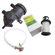 Mann & Hummel Provent 200 Oil Separator Catch Can Filter + Replacement Filter & Drain Kit suit 4wd Turbo Models