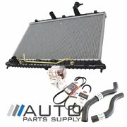 Kia JB Rio Radiator Cooling Package Water Pump Hoses Belts 2005-2011