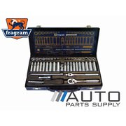 "44 Piece 1/4"" Drive Metric & SAE Standard & Deep Socket Set *Fragram Brand*"