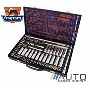 "51 Piece 1/2"" Drive Metric & SAE Standard & Deep Socket Set *Fragram Brand*"