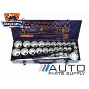 "26 Piece 3/4"" Dr Metric & SAE Fully Polished C/V Combination Socket Set *Fragram Brand*"