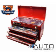 "446 Piece 1/4"" & 1/2"" Drive Metric Tool Kit in 3 Drawer Lockable Chest *Fragram Brand*"