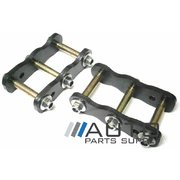 "Isuzu Dmax 2"" Extended Greaseable Rear Shackles suit 2008-2012 *New*"