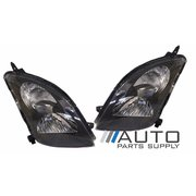 Suzuki EZ Swift Sport LH + RH Headlights Black Type 2005-2010 *New Pair*