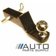 "2"" Tow Bar Tongue Hitch Receiver with Ball & lock Pin 3500kg Rating *New*"