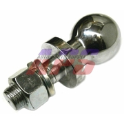 Heavy Duty Chrome Tow Ball 50mm With 5000lb Rating *New With Free Shipping*