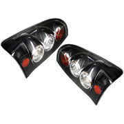 Toyota Hilux Black Performance Tail Lights Lamp Set Suit 2005-2011 Models *New*