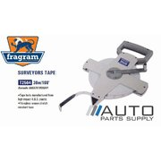 30m / 100ft Surveyor Tape *Fragram Brand*