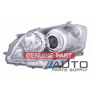 2006-2009 Toyota GSV40 Aurion LH Headlight Head Lamp No Xenon,Sportivo *Genuine*