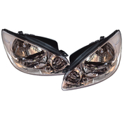 Hyundai Getz Headlights Head Lights Lamps Set 2005-2007 Models *New*
