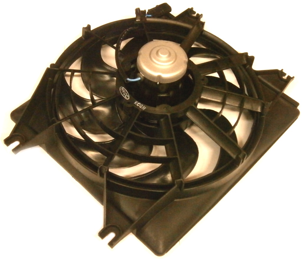 Hyundai Excel Radiator Engine Thermo Cooling Fan X3 1994