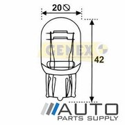T20 12V 21/5W W3X16Q Wedge Bulb (Single) (47534)
