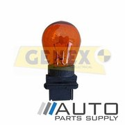 3156A 12V27W W2.5X16D P27W Amber Wedge Bulbs (Box of 10)