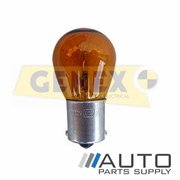 BA15S 12V 21W Amber Bayonet Bulbs (Box of 10)
