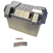 Universal Battery Box 325x180x213mm Great For Boats Campers Caravans