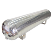 15ltr Stainless Steel Air Tank 6 Port 0-200psi 750x220x180mm