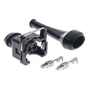 Toyota Landcruiser Coolant Temp Sensor Connector Plug 4.2ltr 1HDFTE HDJ79R Troop 2001-2007 *PAT*
