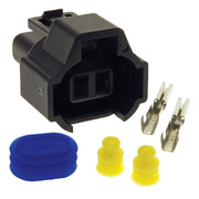 Fuel Injector Connector Plug Ford Laser 1.6ltr B6 KJ 1994-1999