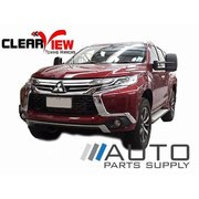 Mitsubishi Pajero Sport Electric Towing Mirrors Black W/ Indicators 2015-Current *Clearview*