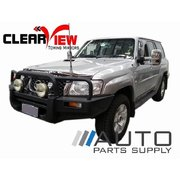 Nissan GU Patrol Manual Towing Mirrors Chrome 1997-Current *Clearview*