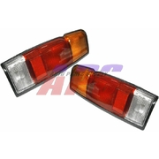 Nissan D21 Navara LH + RH Tail Lights Lamps suit Style Side 1986-1992 Models 36cm long *New*