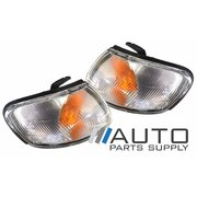 Pair of Indicator Corner Lights suit Nissan N15 Pulsar Early 1995-1998