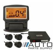 Wireless Reverse Parking Sensor Kit with Flip Up Screen & 4 Sensors