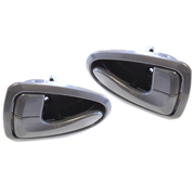 Hyundai Accent LH + RH Grey Inner Door Handles suit LC 2000-2006 Models *New*