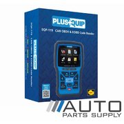 Automotive OBD11 Code Reader and Reset Tool - Plusquip *New*