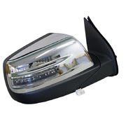 Ford PK Ranger Wildtrak RH Chrome Electric Mirror W/ Light 2009-2011