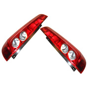 Pair of Tail Lights suit Ford WQ Fiesta 3 Door 2005-2008