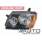 Holden RC Colorado LH Headlight Head Light Lamp 2008-2012 *New Genuine*