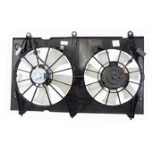 Honda CM Accord Radiator Engine Thermo Fan Assembly 4cyl 2002-2008 *New*