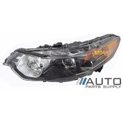 Honda CU Accord Euro LH Headlight Head Light Lamp Halogen Type 2008-2010