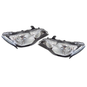 Pair of Headlights To Suit Honda FD Civic Series 1 2006-2008 Models