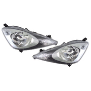 Honda GE Jazz Headlights Head Lights Lamps Set GLi VTi VTi-S 2008-2011 *New*