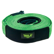 Hulk 4x4 11000kg 75mm x 9m Green Nylon Snatch Strap