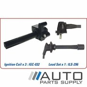 Ignition Coil & Lead Set Toyota Avalon 3.0ltr 1MZFE MCX10R 2000-2006