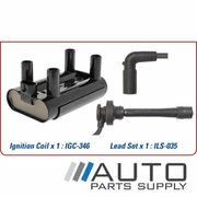 Ignition Coil & Lead Set Great Wall V240 2.4ltr 4G69S4N  2009-2016