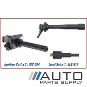 Ignition Coil & Lead Set Suzuki APV 1.6ltr G16A1D  2005-On